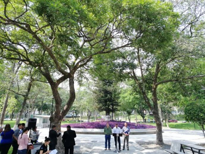 ¿Cuándo estará lista la remodelación en el parque Cuscatlán?