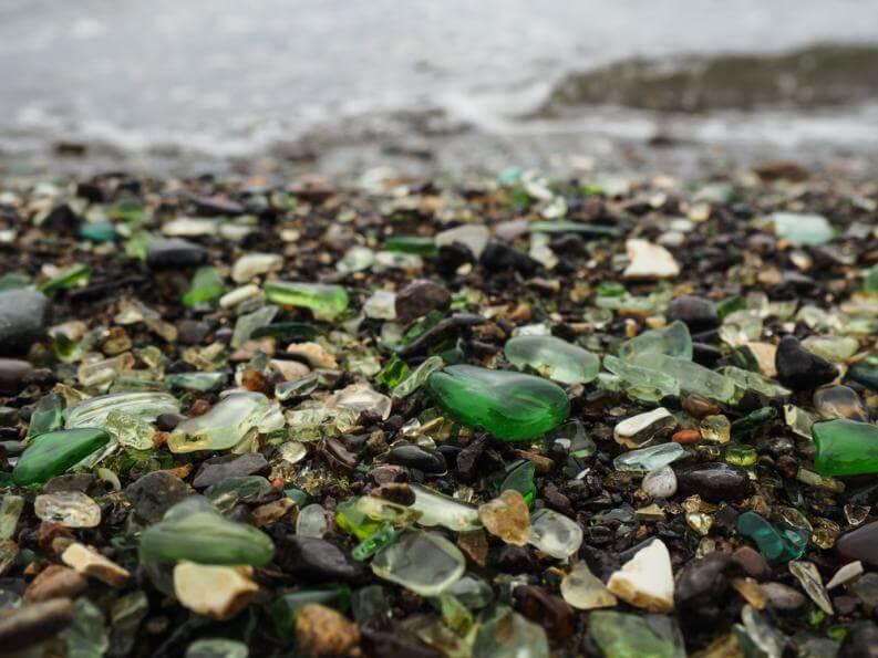 Una Playa de Cristal