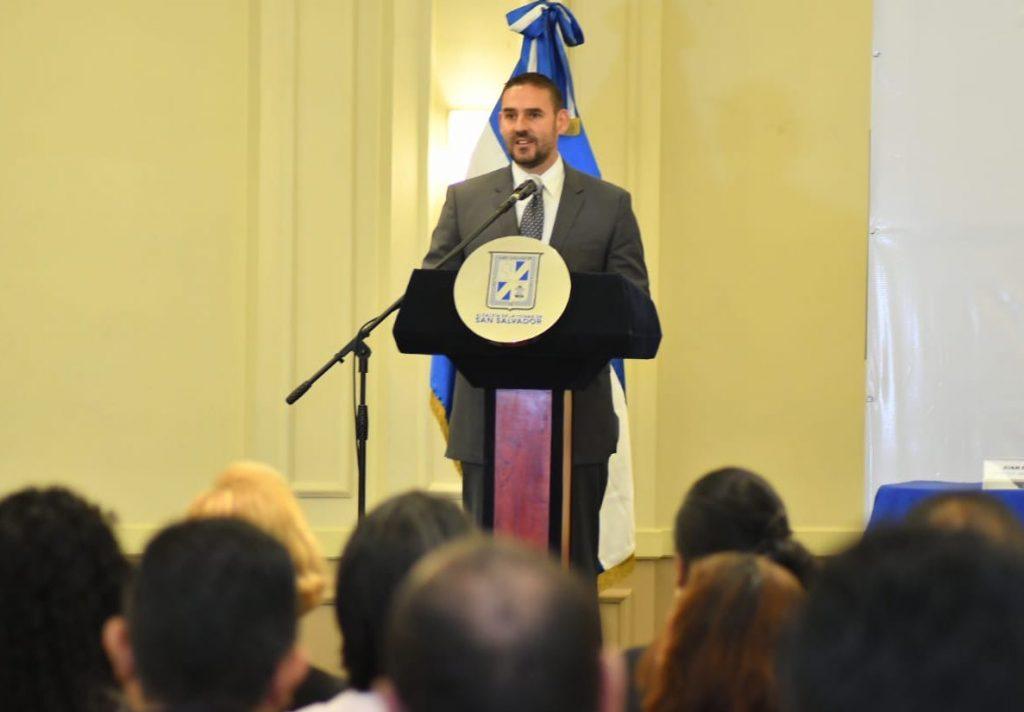 Alcalde Muyshondt junto Gobierno y USAID lanzan Política de Prevención de la Violencia en San Salvador