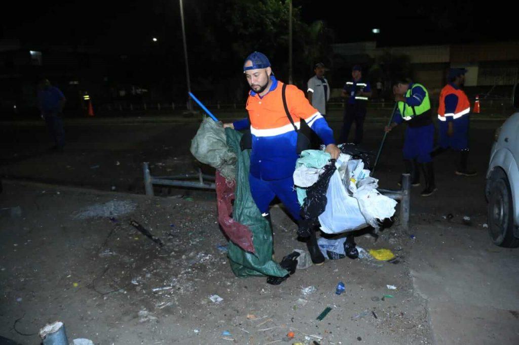 GALERÍA: Aceras recuperadas de la Avenida Independencia