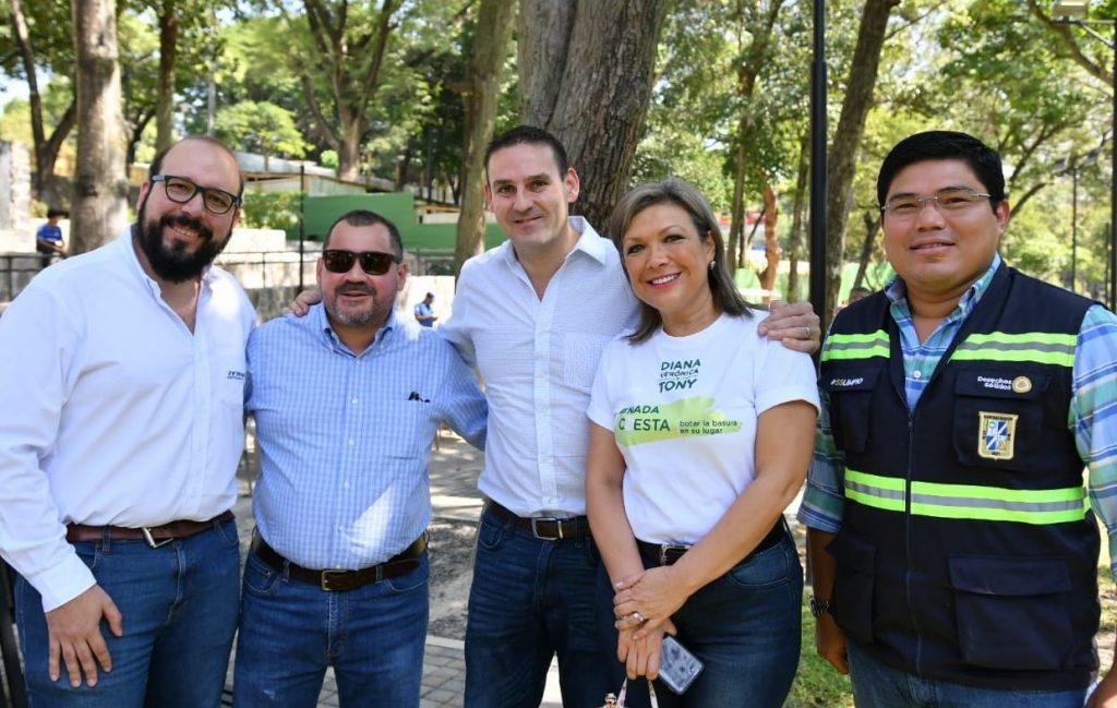 """Alcalde de San Salvador Neto Muyshondt se suma a la iniciativa """"Grito Climático"""""""