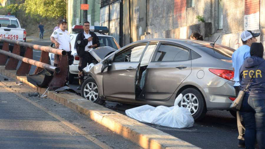 Multiples accidentes de transito en la madrugada de este miércoles