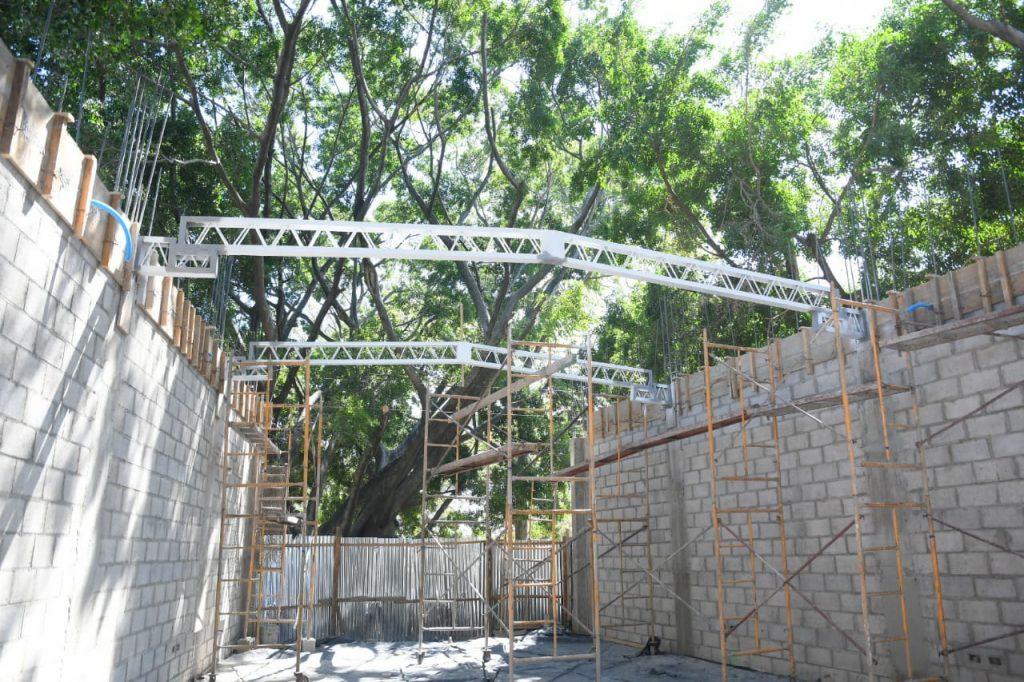 Así está quedando la biblioteca más moderna de San Salvador