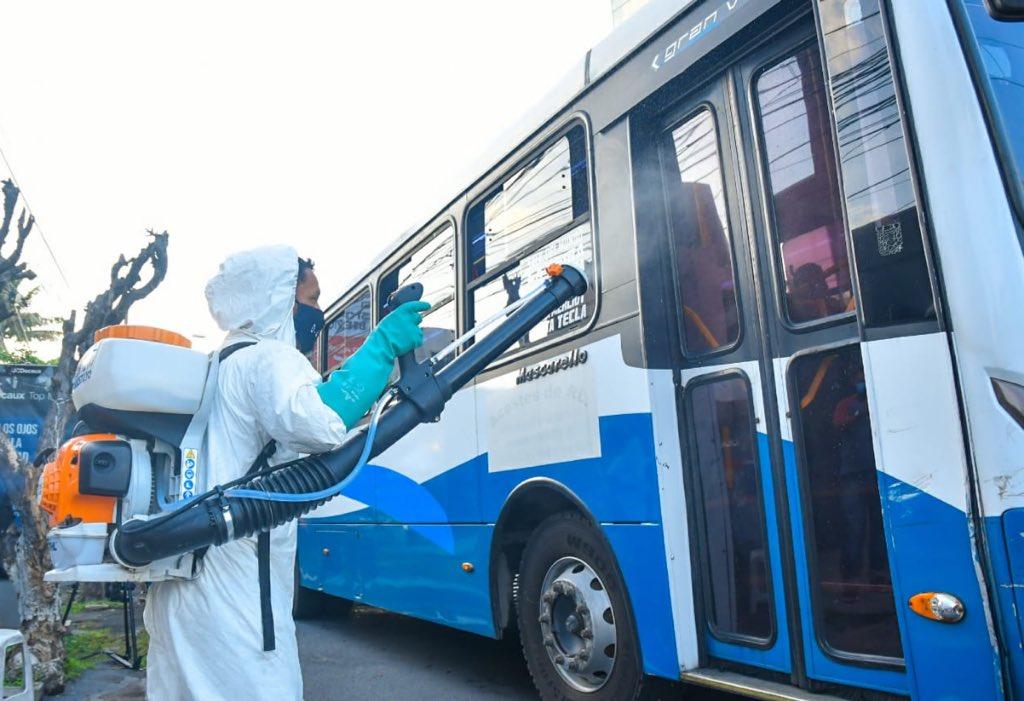 Alcalde Neto Muyshondt ejecutó plan en prevención de contagios en el transporte público